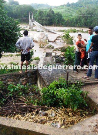 Los daños que dejó Max en Costa Chica