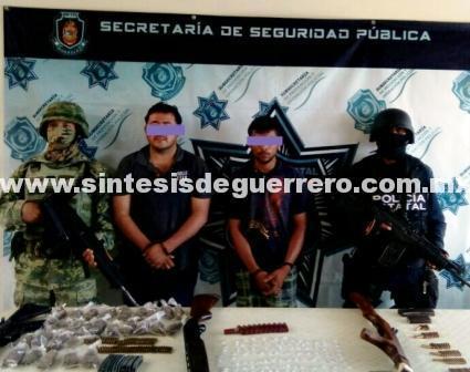 Caen 8 presuntos delincuentes en Iguala, uno es menor
