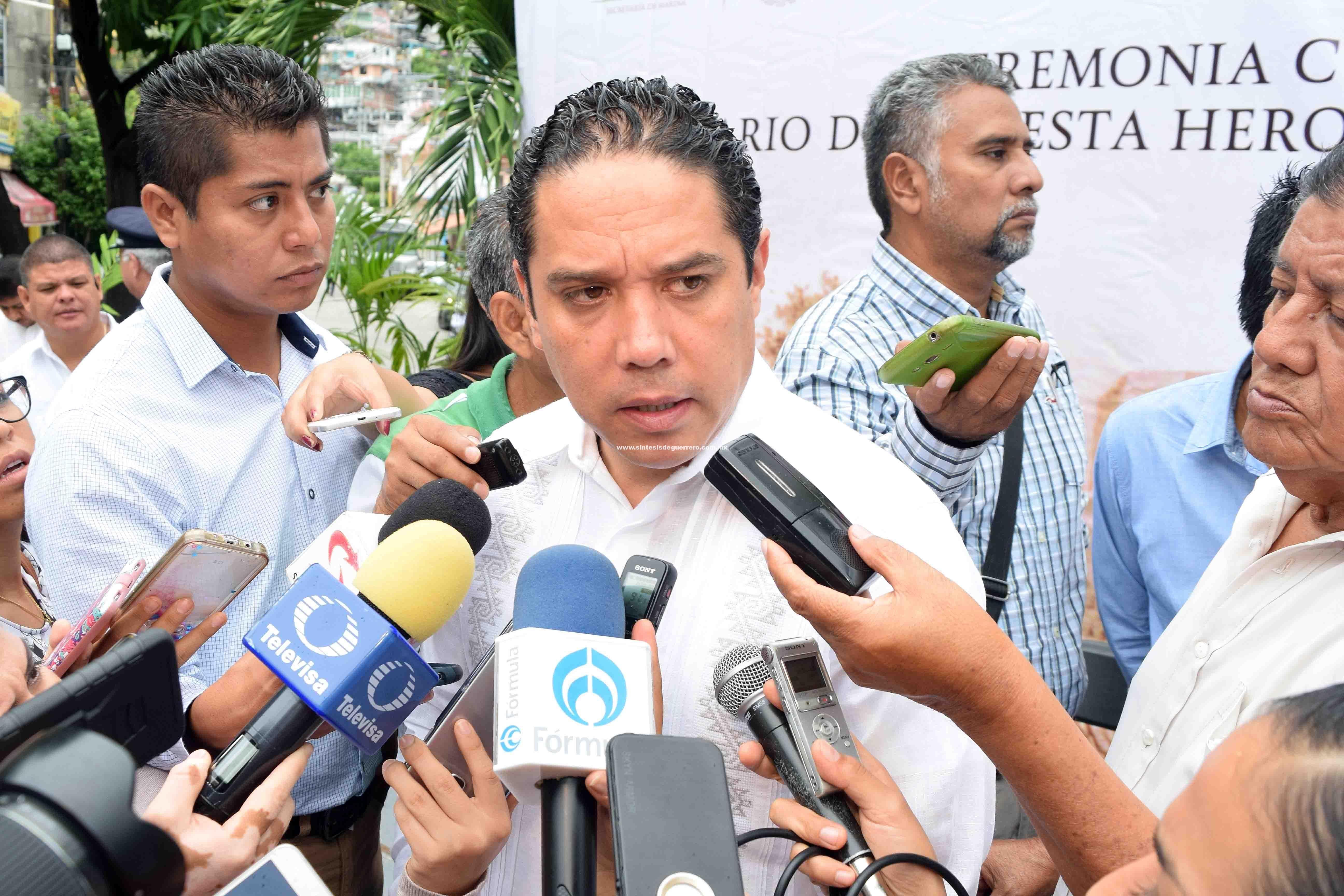 Gobierno de Acapulco mantiene activos protocolos de Protección Civil: Evodio