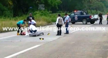 Dejan un ejecutado en Zihuatanejo