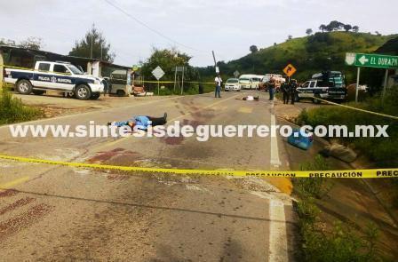 Cuatro ejecuciones en Tixtla, Chilapa y Ajuchitlán, Guerrero