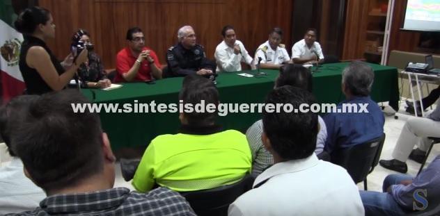 (Video) Declara Evodio en sesión permanente el Consejo Municipal de Protección Civil