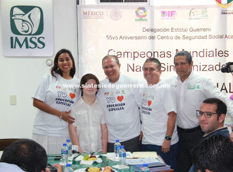 Anuncia IMSS exhibición de nado sincronizado para conmemorar 55 Aniversario del CSS Acapulco