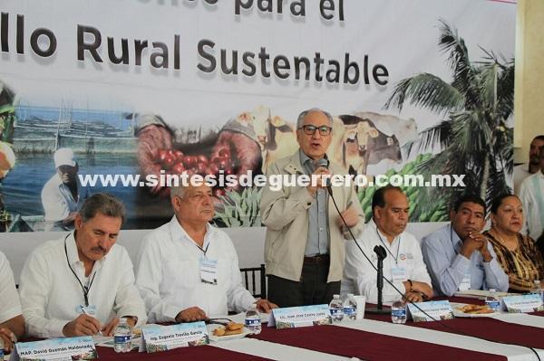 Inaugura Florencio Salazar los trabajos de la sesión del Consejo Guerrerense de  Desarrollo Rural
