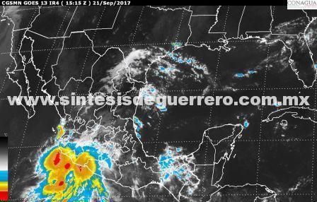 Hoy seguirá la lluvia en Guerrero