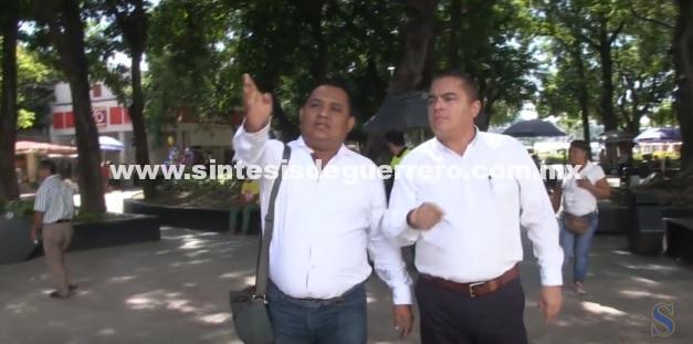 (Video) Supervisa PC y Vía Pública rutas de evacuación en el zócalo por Grito de Independencia