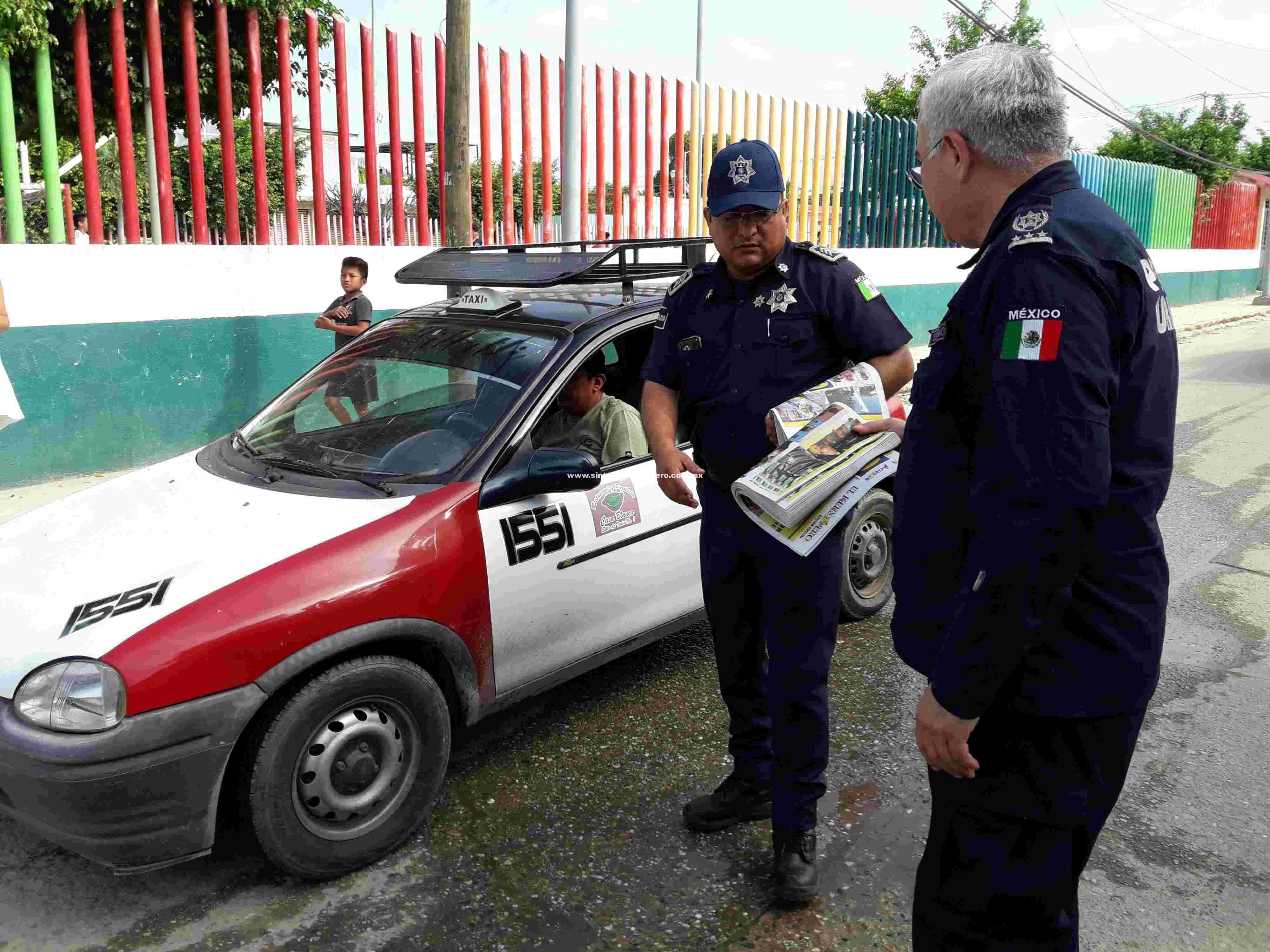 Realizan Policías de Acapulco labor de proximidad social e informan de acciones en seguridad