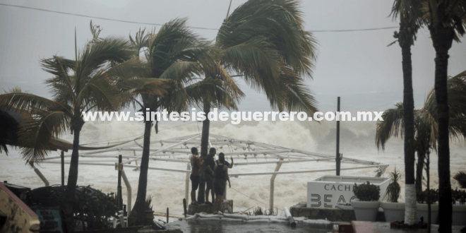 Se prevén tormentas intensas en Guerrero