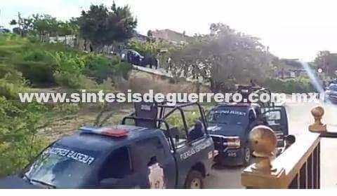 Se enfrentan policías estatales con integrantes de un grupo delincuencial en Zumpango