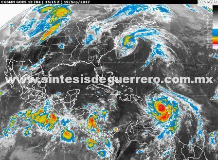 Probabilidad de ciclón al sur de Oaxaca afectaría a Guerrero