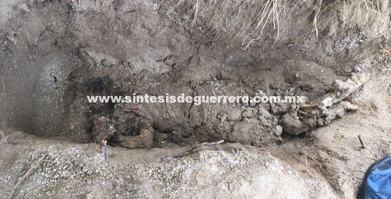 Hallan una fosa clandestina en Tlapa