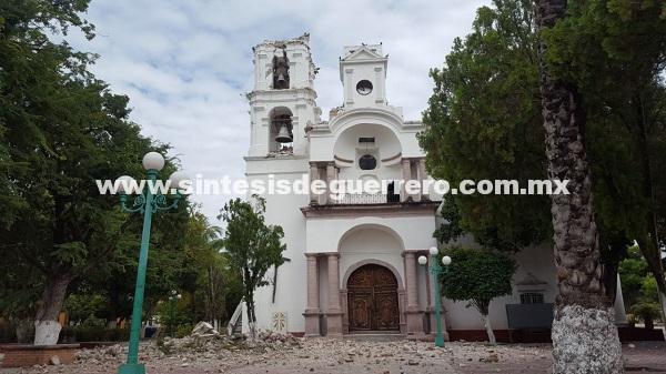 Más de mil viviendas, 30 escuelas y 6 hospitales con daño en su infraestructura en Atenango del Río