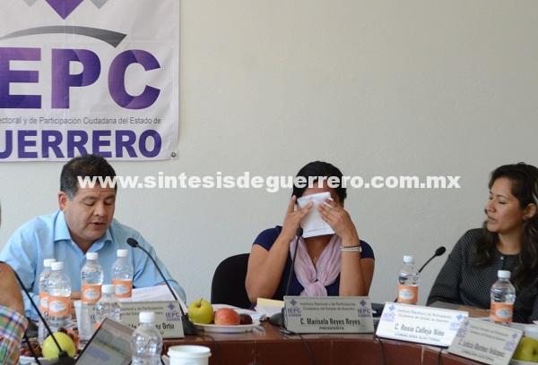 Por presión del INE, repentina renuncia de la presidenta del IEPC, Marisela Reyes