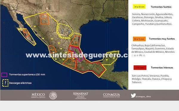 México: tras el terremoto, huracán