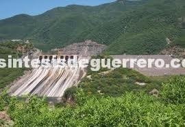 """SPCGRO emite aviso preventivo para los municipios de la Tierra Caliente, ante desfogue de la presa """"El Caracol"""""""