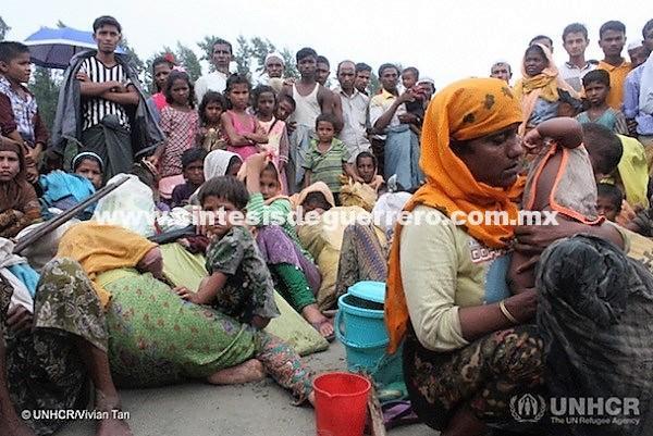 Limpieza étnica en Birmania