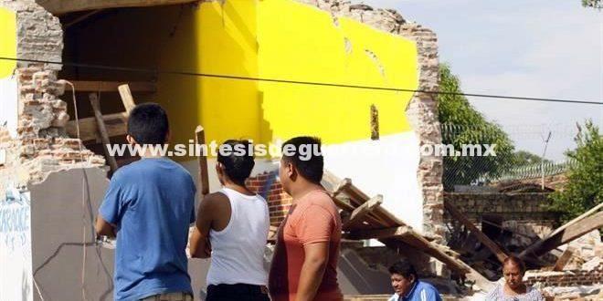 Llegan apoyos del Fonden para damnificados por el sismo en Guerrero