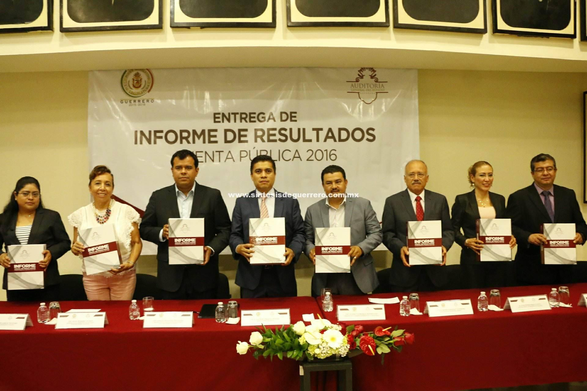 El Congreso de Guerrero es un aliado y facilitador para que los entes fiscalizables puedan cumplir en tiempo y forma
