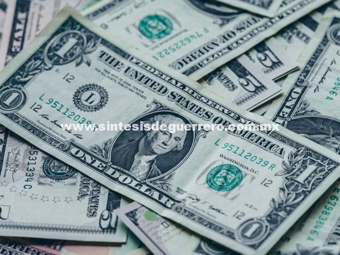 Dólar se vende en $19.40 en bancos de la Ciudad de México