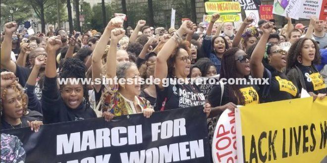 Marchan miles en Washington para reclamar justicia racial