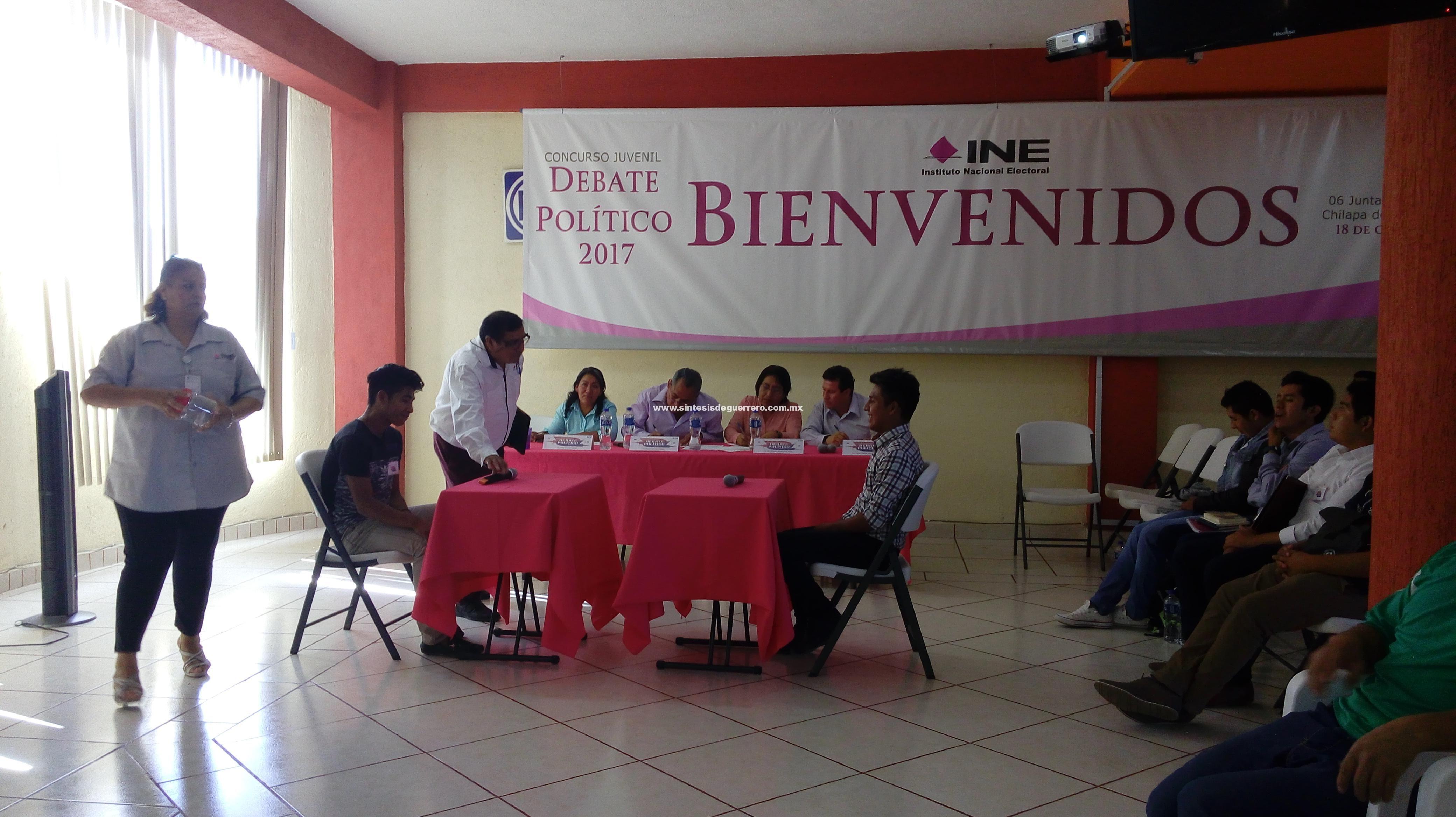 "Concurso Juvenil ""Debate Político 2017"", en Chilapa de Álvarez"