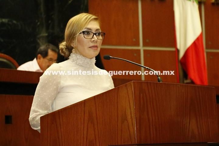Propone la diputada Érika Alcaraz Sosa reformar la Constitución Política del Estado de Guerrero