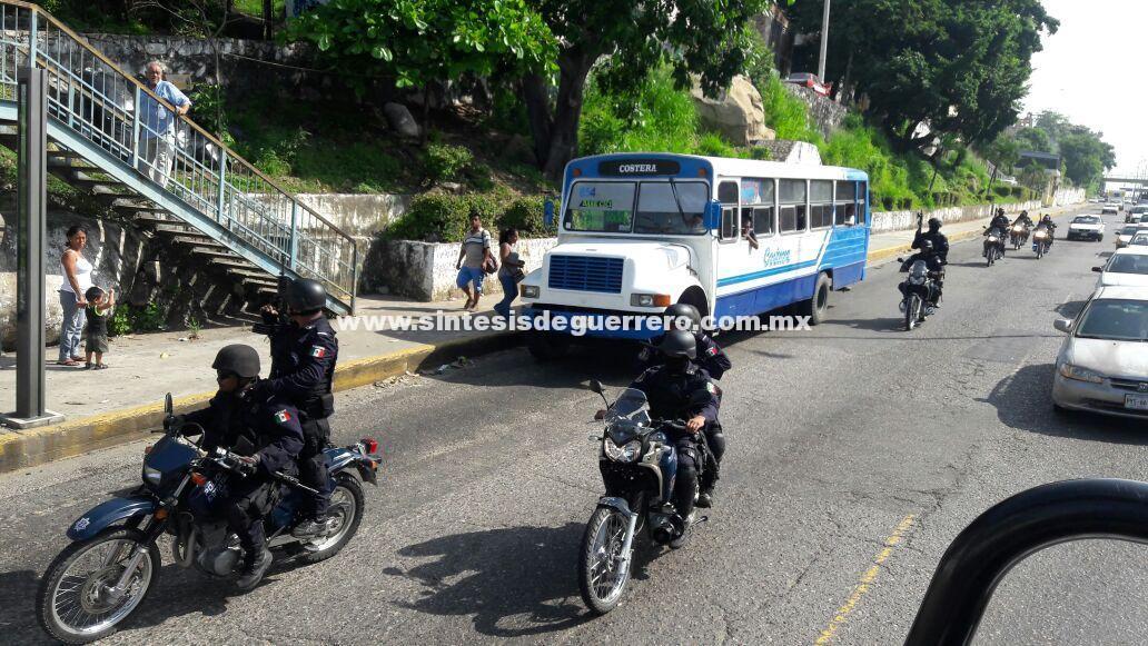 """Inicia operativo de alto impacto en Acapulco con el recién formado Grupo Táctico de Reacción Inmediata """"Centauro"""""""