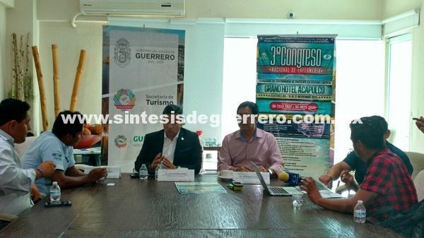 Se realizará en el puerto de Acapulco el tercer Congreso Nacional de Enfermería