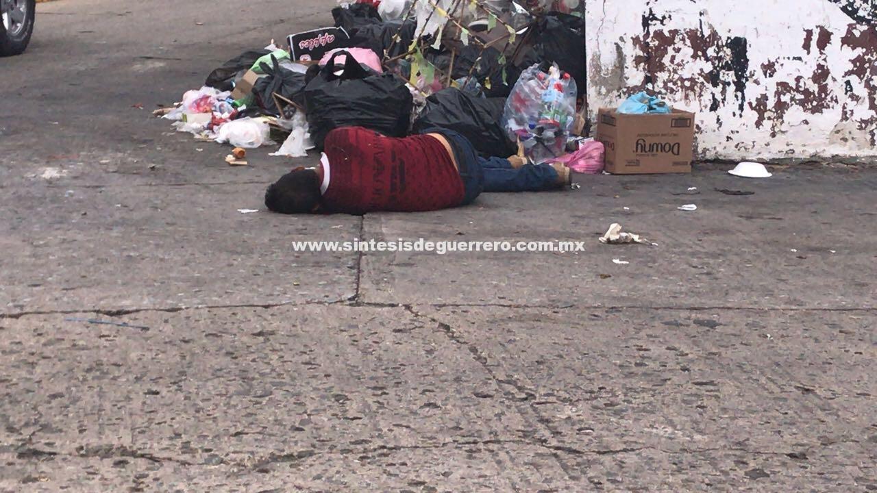 Lo ejecutan en el Barrio de La Fábrica, Acapulco