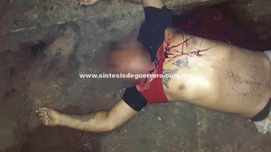 Por resistirse a asalto, matan a un hombre en Acapulco