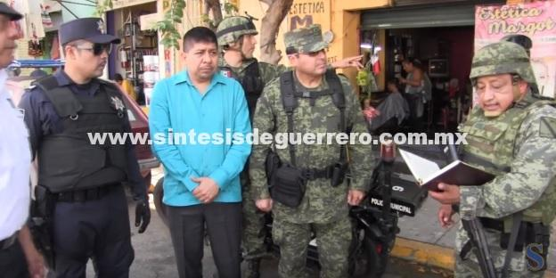 (Video) Realiza Grupo de Coordinación Acapulco operativos de seguridad en colonias populares