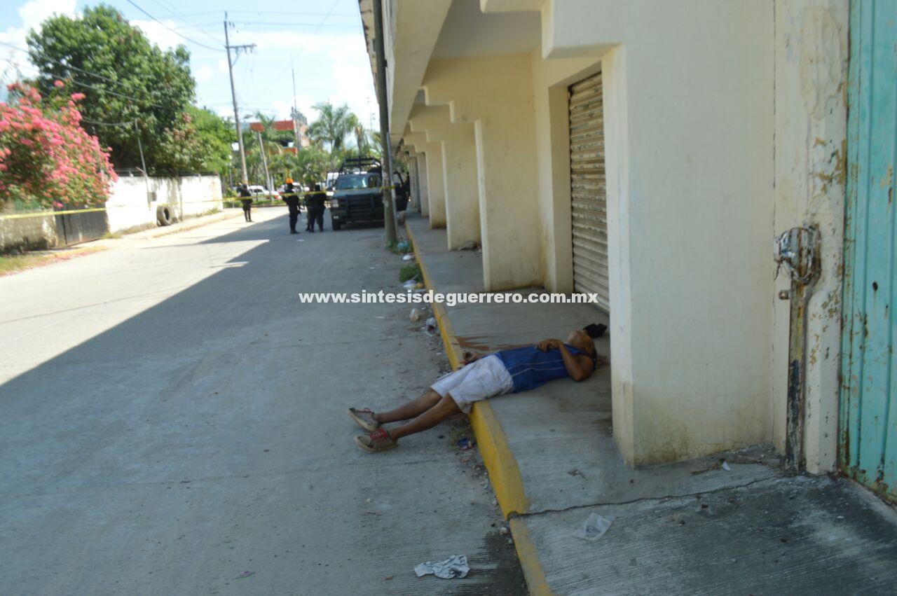Ejecutan a un hombre en la colonia Postal del puerto de Acapulco