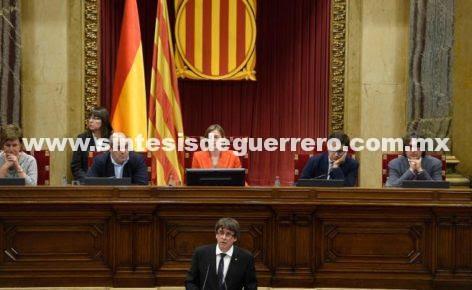 Cataluña llama al diálogo antes de proclamar independencia
