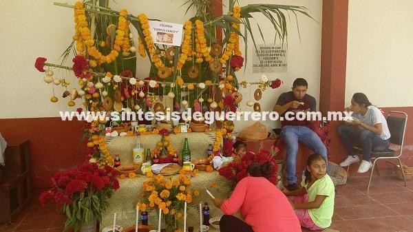 (Video) Inicia concurso de ofrendas en Chilapa