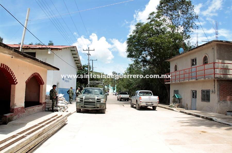 Las comunidades que el narco desplazó en Chilapa