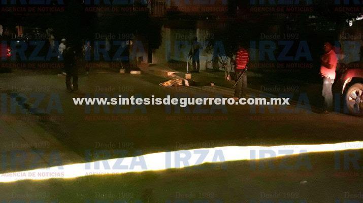 Un muerto y un herido en balacera en la Hogar Moderno de Acapulco