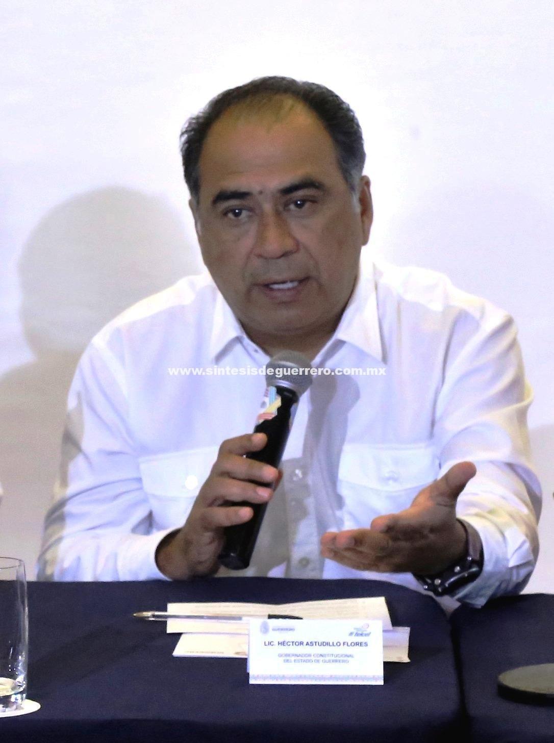 Este jueves acudirá a la sede del Congreso del Estado el titular del Ejecutivo Estatal, Héctor Astudillo Flores