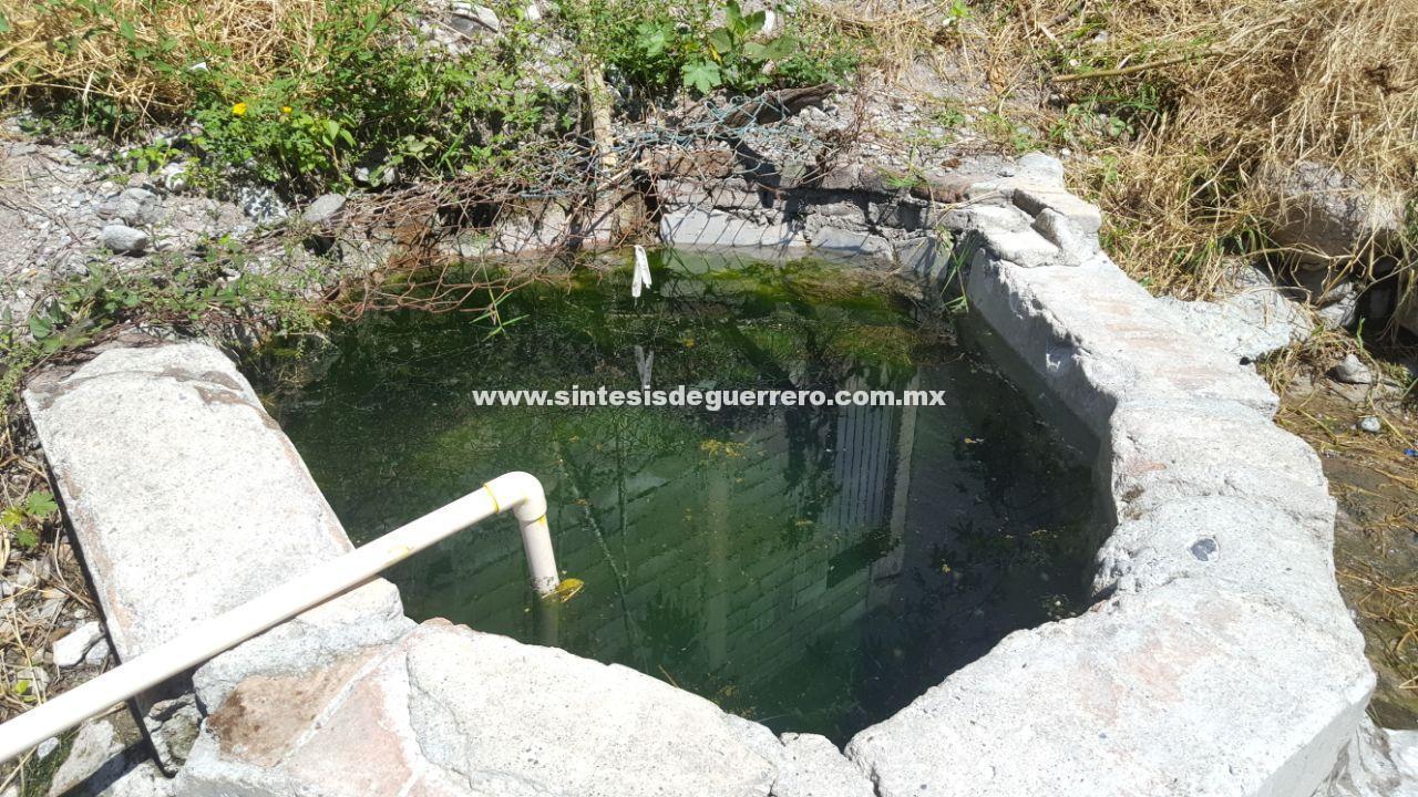 Aguas negras del SUSPEG contaminan cuatro manantiales en Chilpancingo