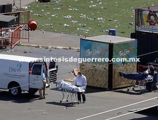 Sube a 59 los muertos tras masacre en Las Vegas