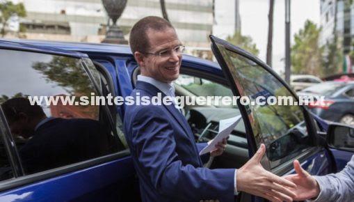Renuncia de Zavala, estrategia del gobierno y el PRI para beneficiar a Meade: Anaya
