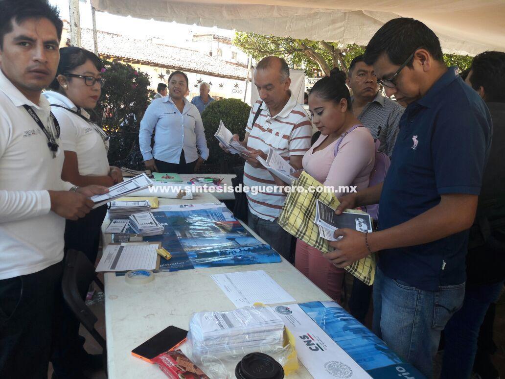 Ofertan 155 Vacantes en Micro Feria del Empleo Taxco 2017.