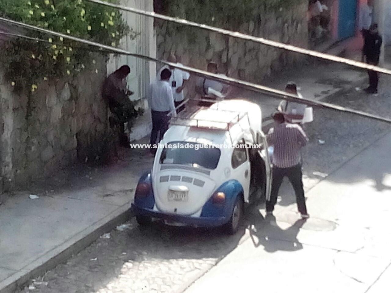 Ejecutan a taxista en La Garita, Acapulco