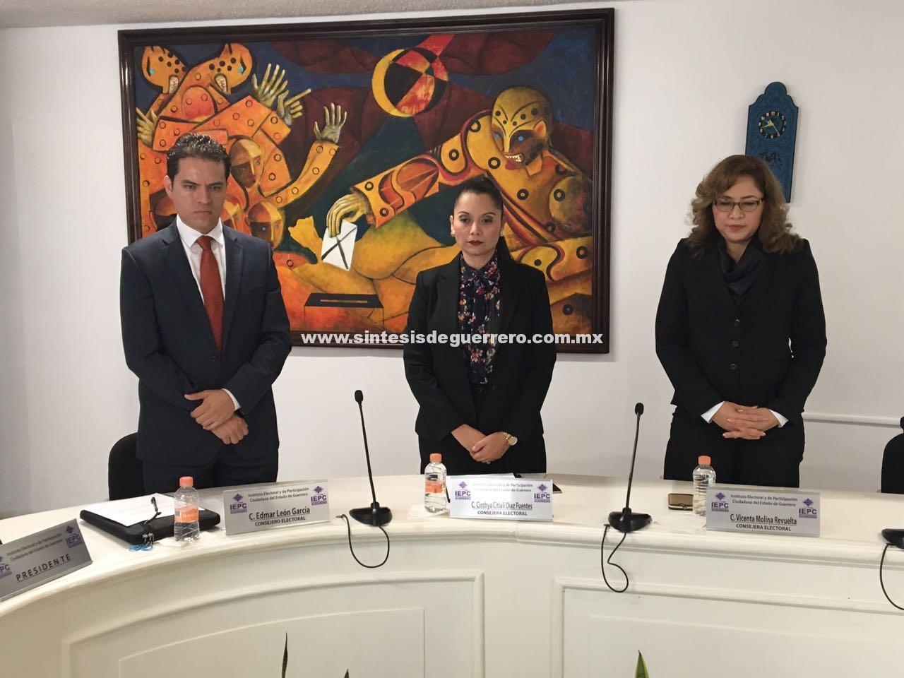 Toman protesta nuevos Consejeros Electorales del IEPC Guerrero