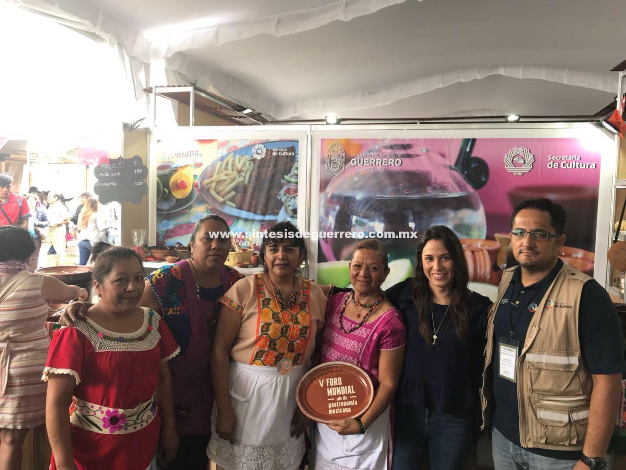 Gana Guerrero Premio en el Foro Mundial de Gastronomía.