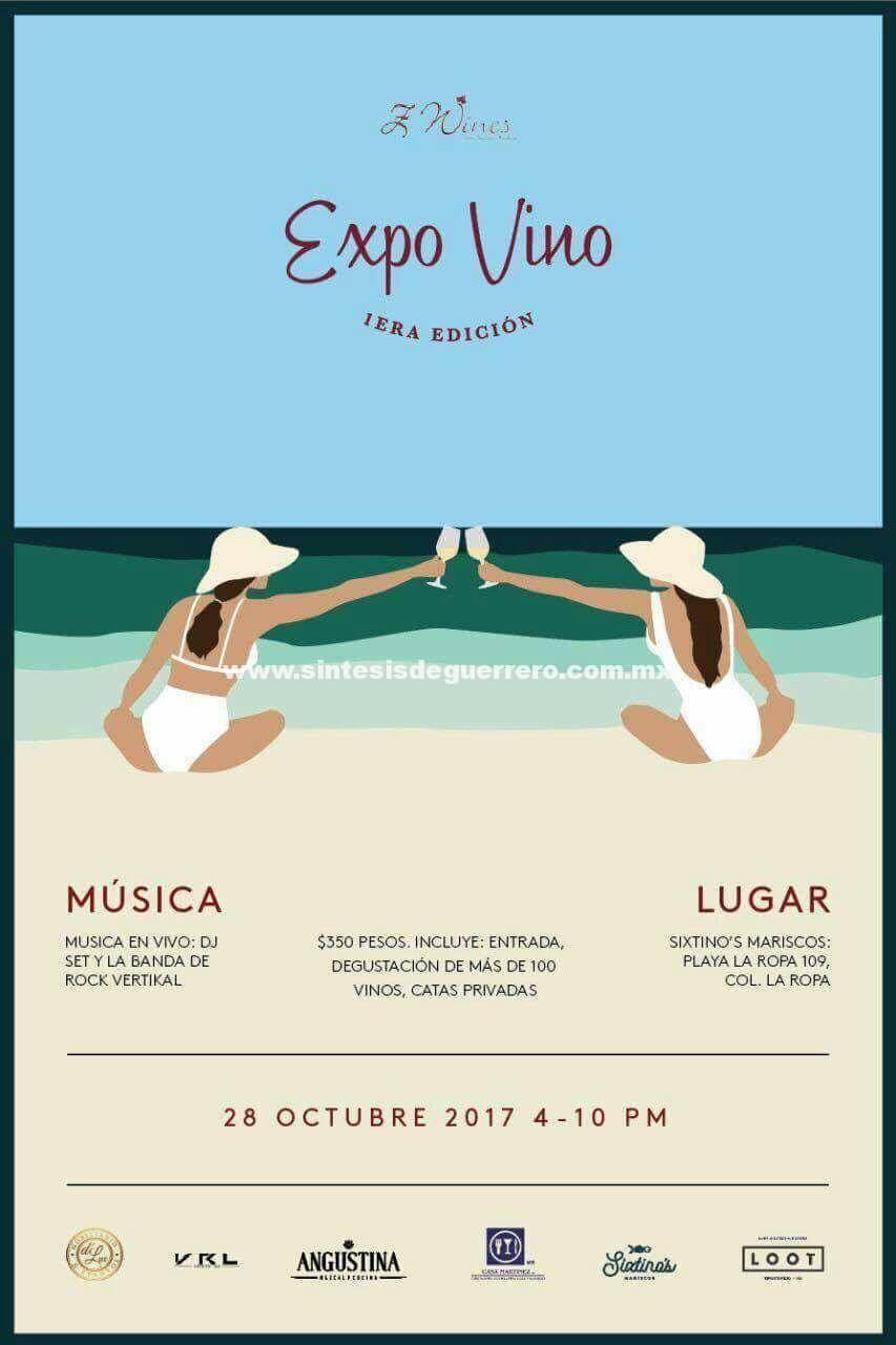 Ixtapa Zihuatanejo, se prepara este fin para ser anfitrión de la 1era edición Expo Vino