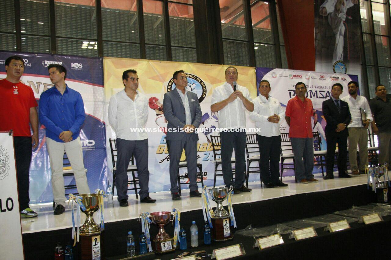 Arranca la Copa Gobernador de Taekwondo Acapulco 2017