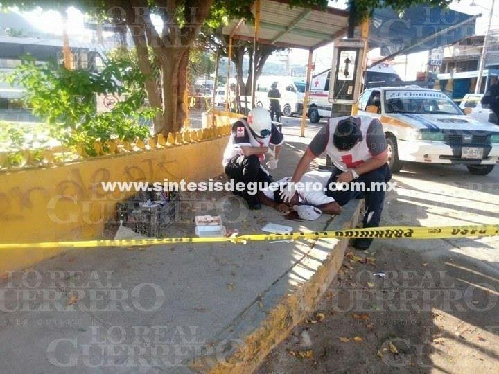 Atacan a balazos sitio de taxis Marquelia, en Acapulco