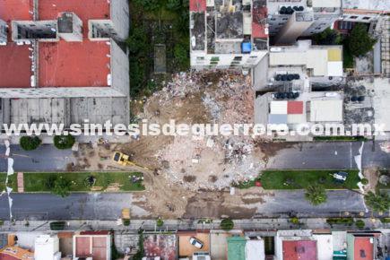 Inicia la demolición de edificios dañados por sismo en la CDMX