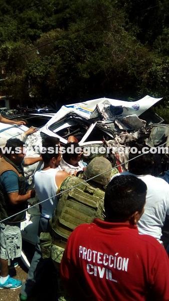 Derrumbe en Taxco sepulta una urvan; cuatro muertos y 5 heridos
