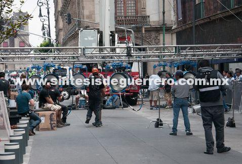 Tras sismo, reanudarán filmaciones en la CDMX